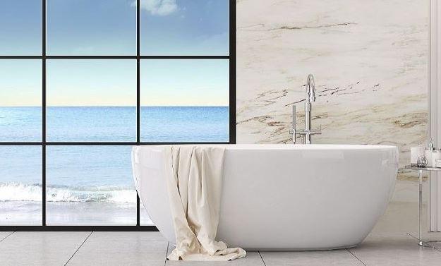como limpiar el marmol del baño