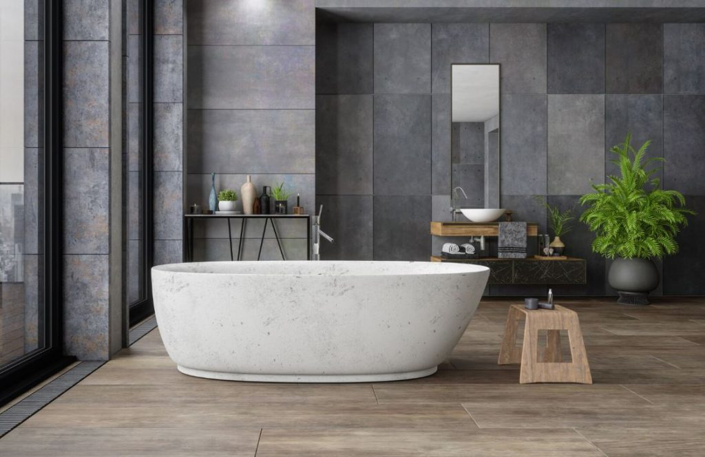 como limpiar una bañera de marmol