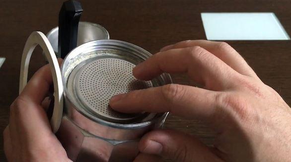 limpiar goma cafetera facilmente