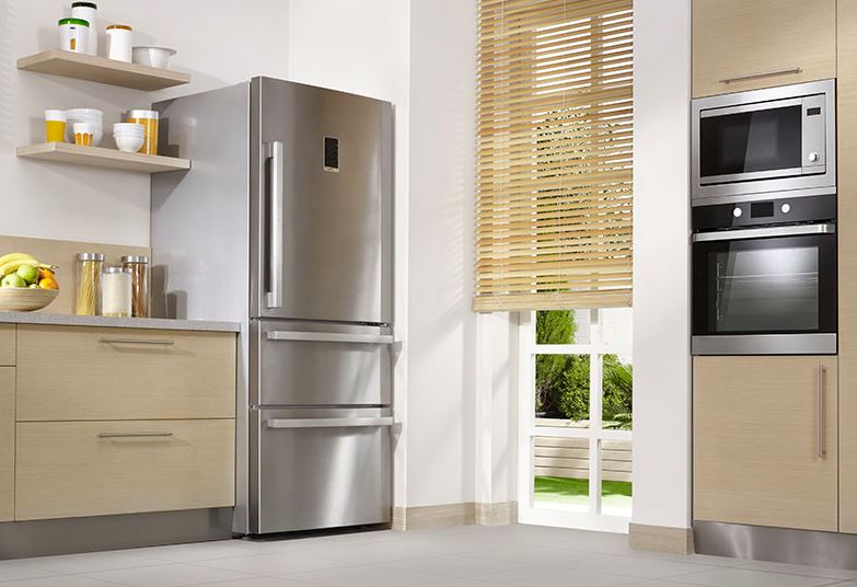 que es un frigorifico de acero inoxidable