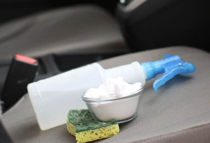 quitar manchas de vomito en tapiceria