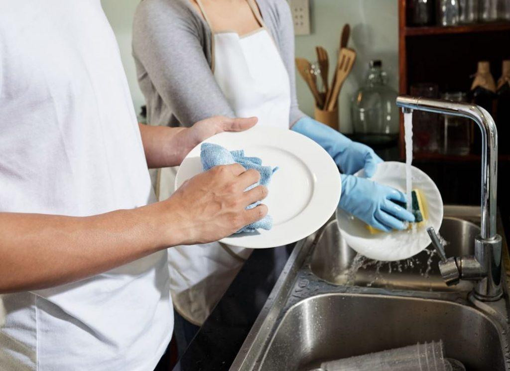 como secar los platos rapidamente