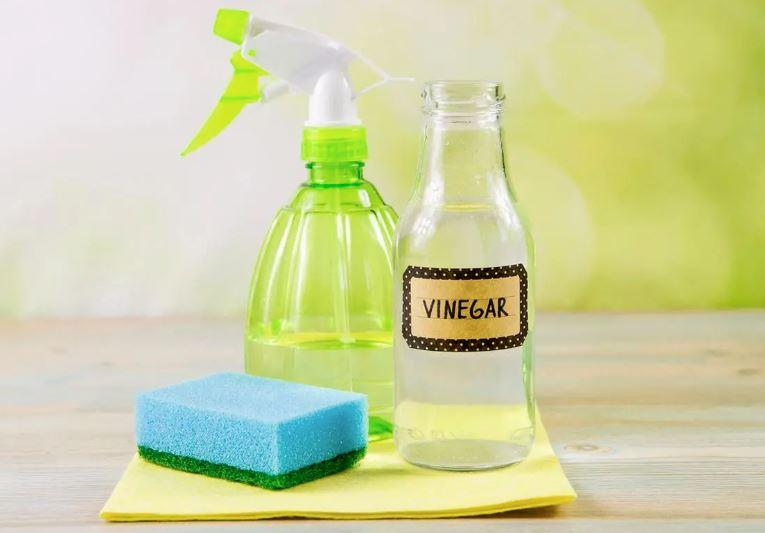 limpiador con vinagre para manchas pegamento