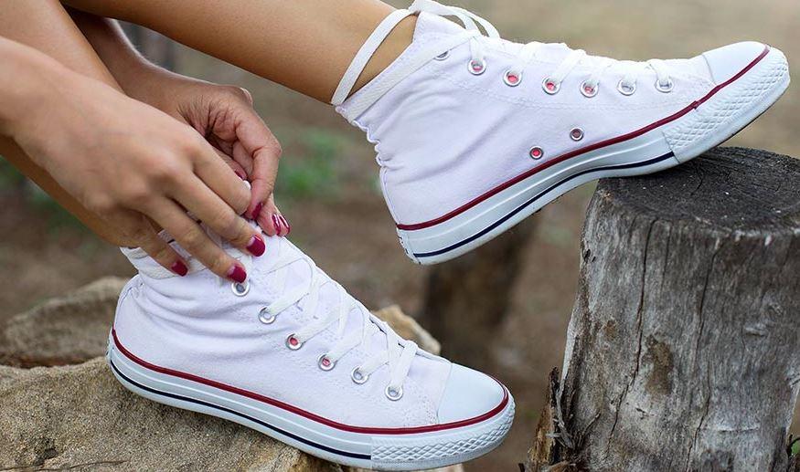 limpiar zapatillas converse blancas