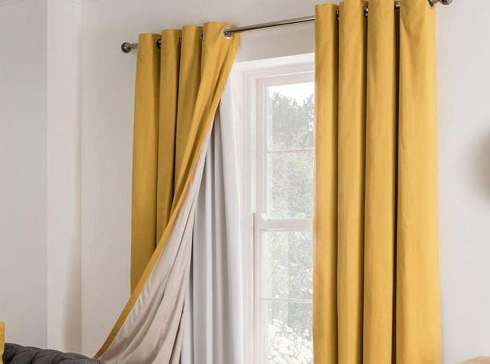 como limpiar cortinas blackout de tela