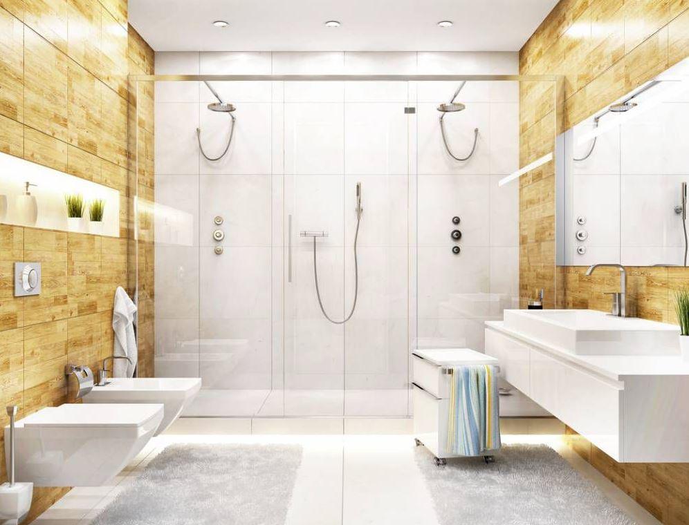 como limpiar la puerta de vidrio de una ducha