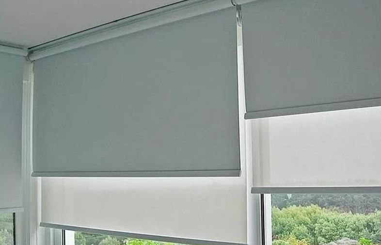 limpiar cortinas roller blackout facil