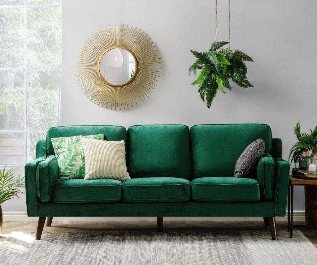 limpieza de sofá terciopelo
