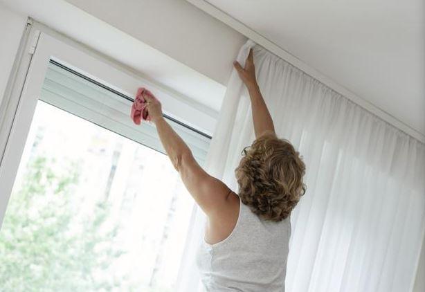 para limpiar cortinas blackout