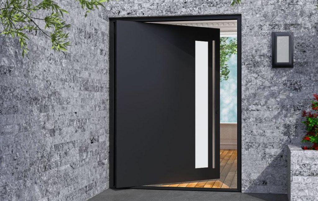 como limpiar una puerta de metal