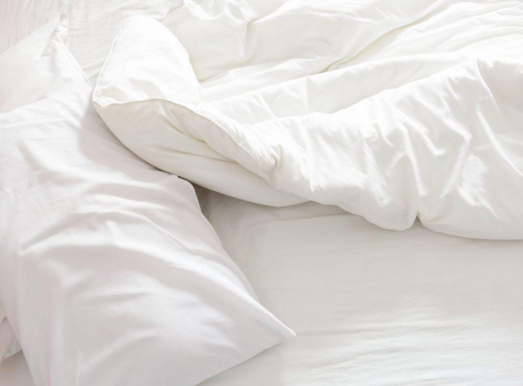 desinfectar ropa de cama