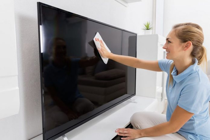 Cómo limpiar una televisión de plasma