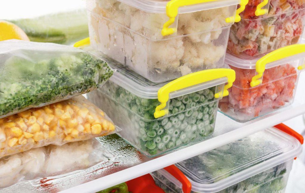 como guardar los alimentos en el congelador