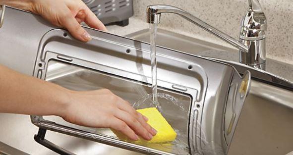 como limpiar una tostadora