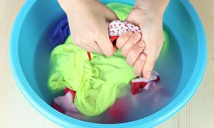 jabon lavar ropa a mano