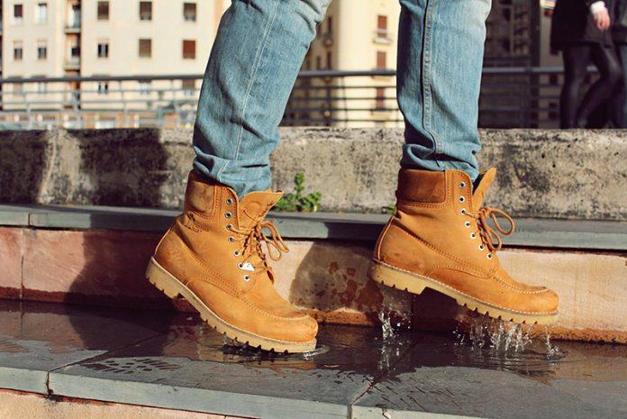 limpiar unas botas Panama Jack