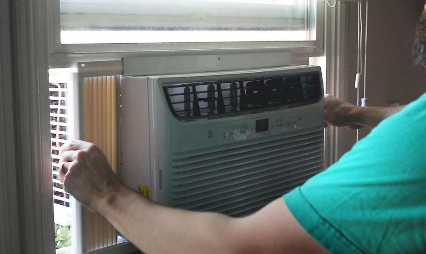 limpieza de aire acondicionado tipo ventana