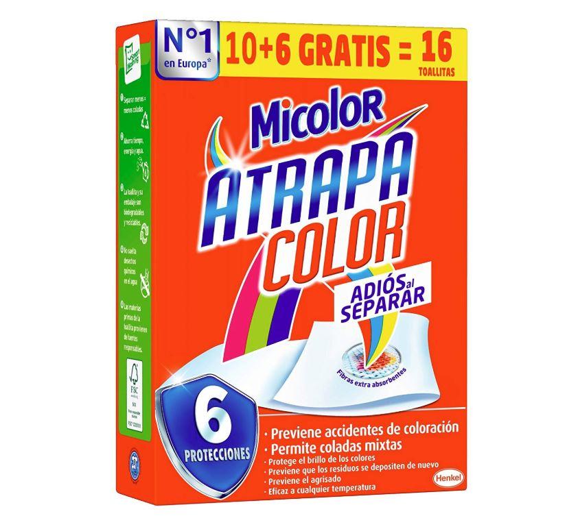 toallitas atrapa color micolor opiniones