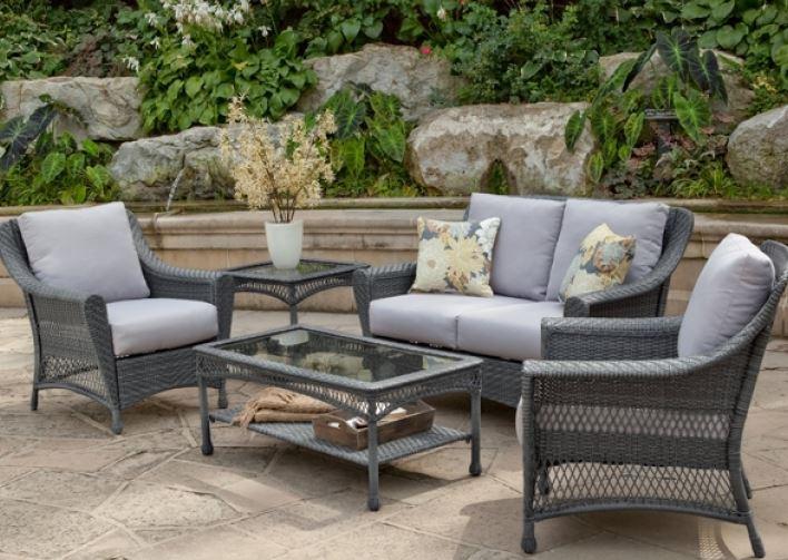 limpiar sillas de patio