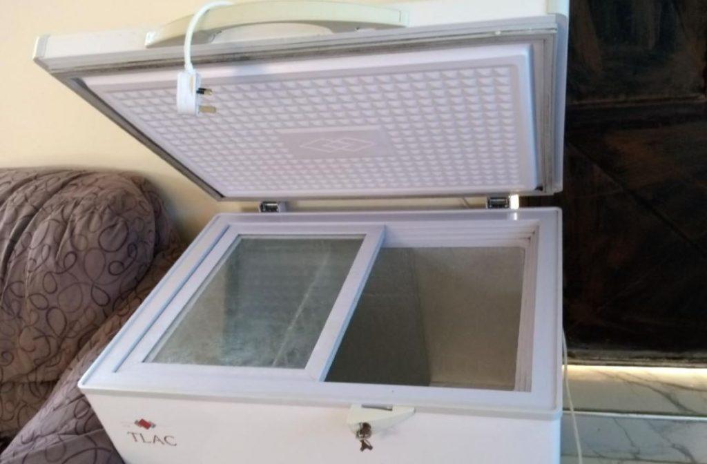 congelador horizontal limpieza