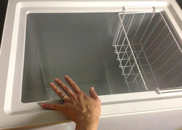 limpiar congelador horizontal