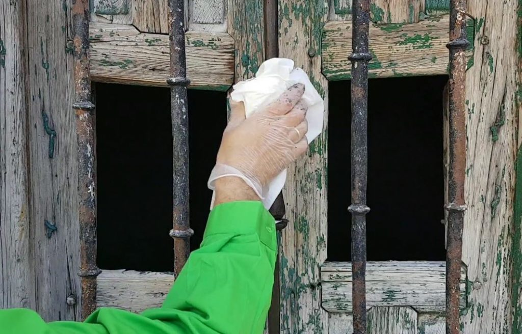 limpiar hierro de ventana leroy merlin