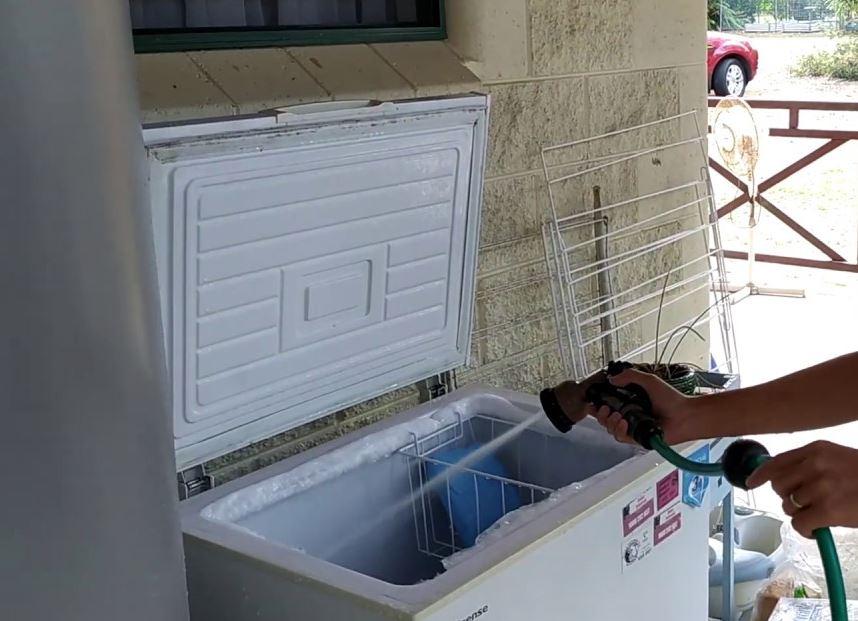limpieza congelador horizontal