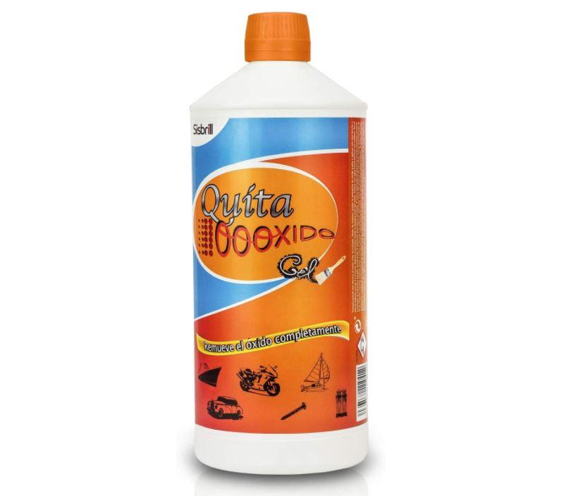 producto para eliminar oxido en hierro