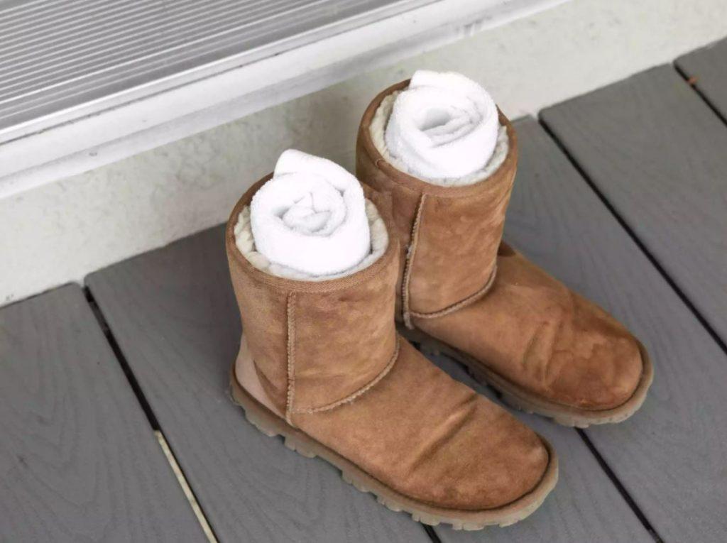 como limpiar unas botas ugg
