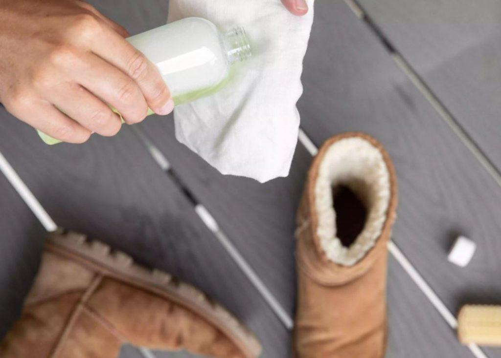 como puedo limpiar unas botas ugg