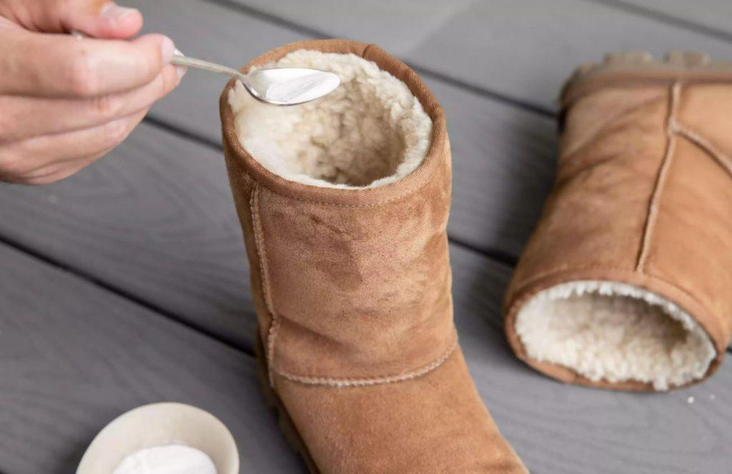 limpiar botas ugg con bicarbonato de sodio