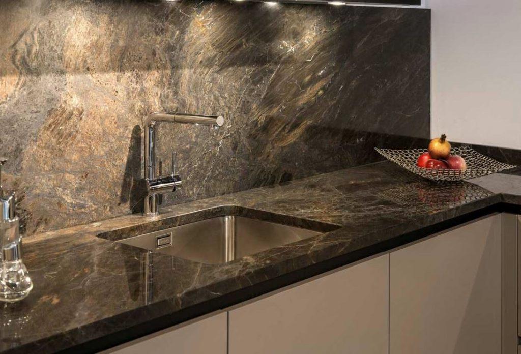 limpieza encimera marmol granito