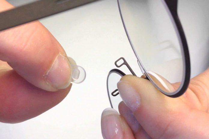limpiar almohadillas de las gafas