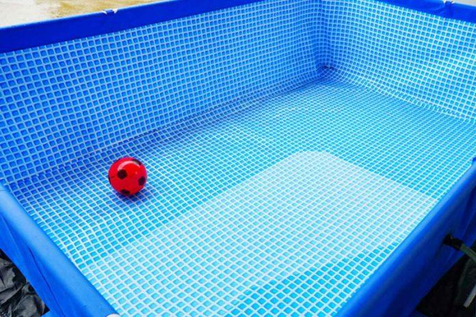 limpiar piscina desmontable