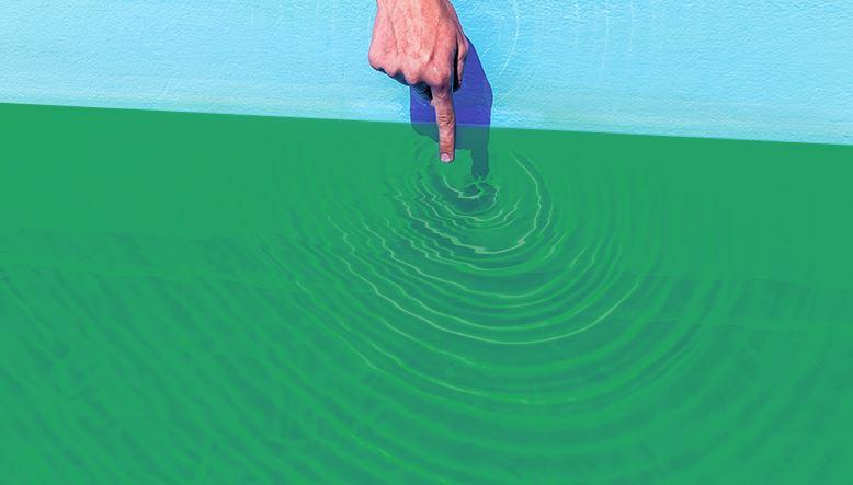 cómo limpiar una piscina con agua verde