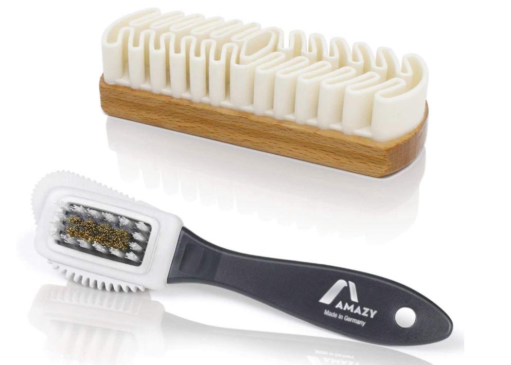 cepillo para limpiar gamuza