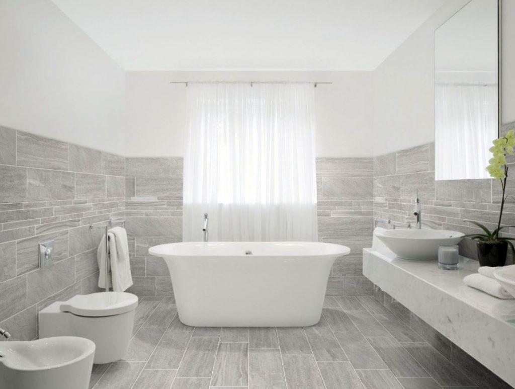 como limpiar los porcelanicos del baño