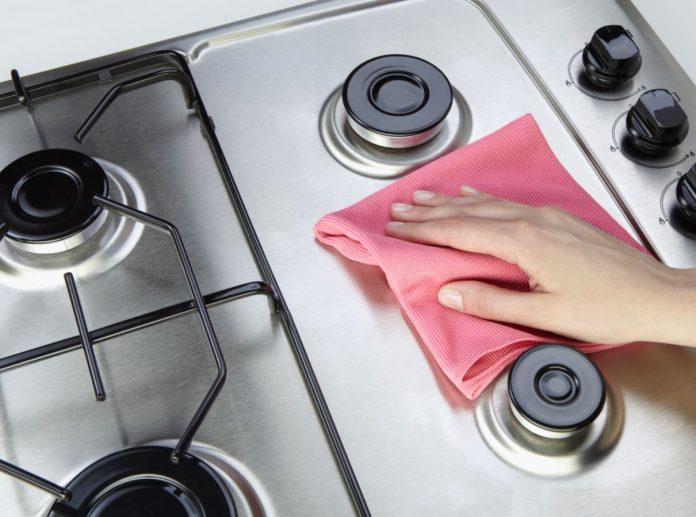 como limpiar los quemadores de la cocina de gas