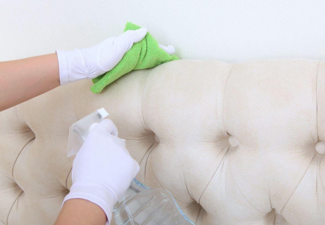 como limpiar un sillon de ante