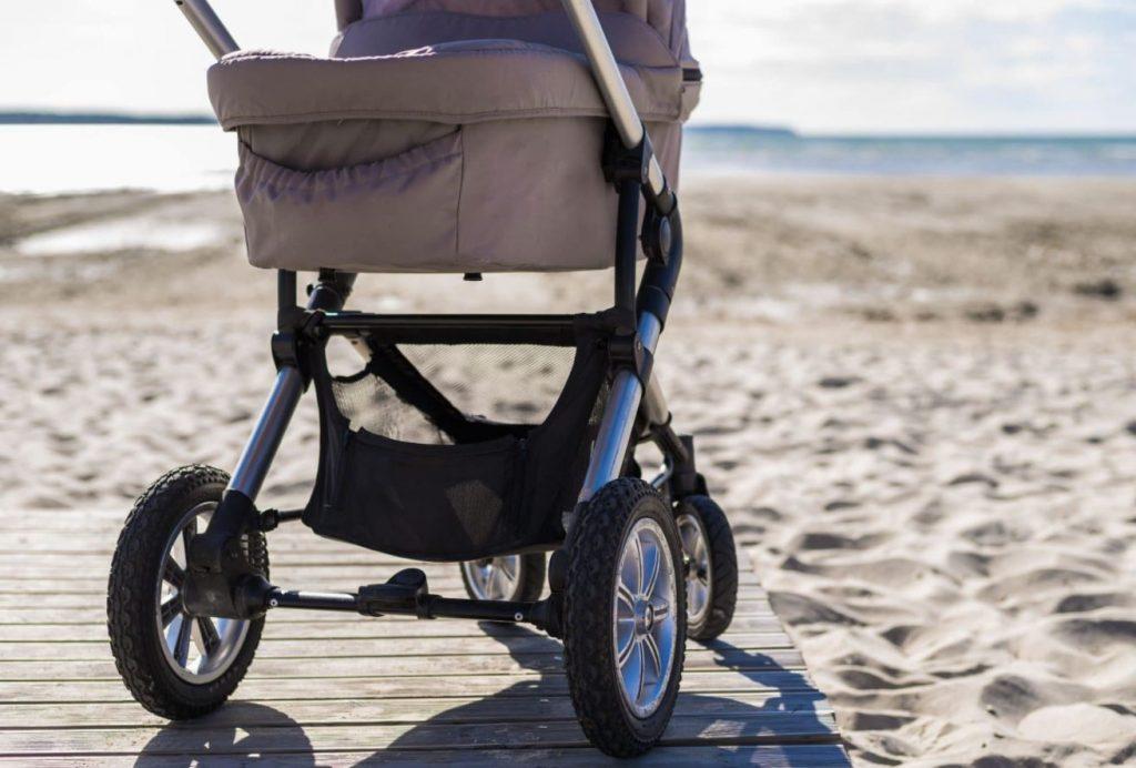 como limpiar una silla de paseo de bebé