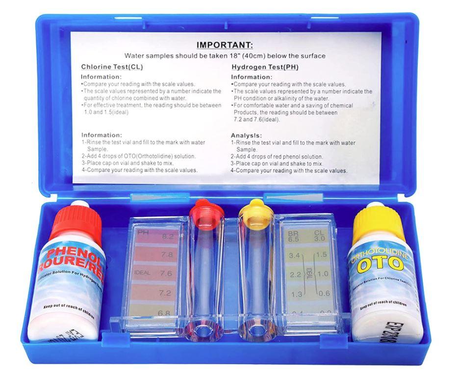 kit de analisis de agua para piscinas
