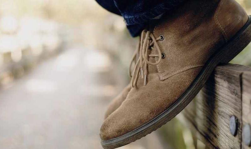 limpiar botas serraje