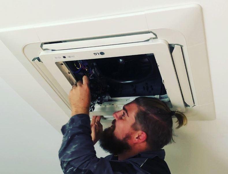 limpiar filtro aire acondicionado cassette