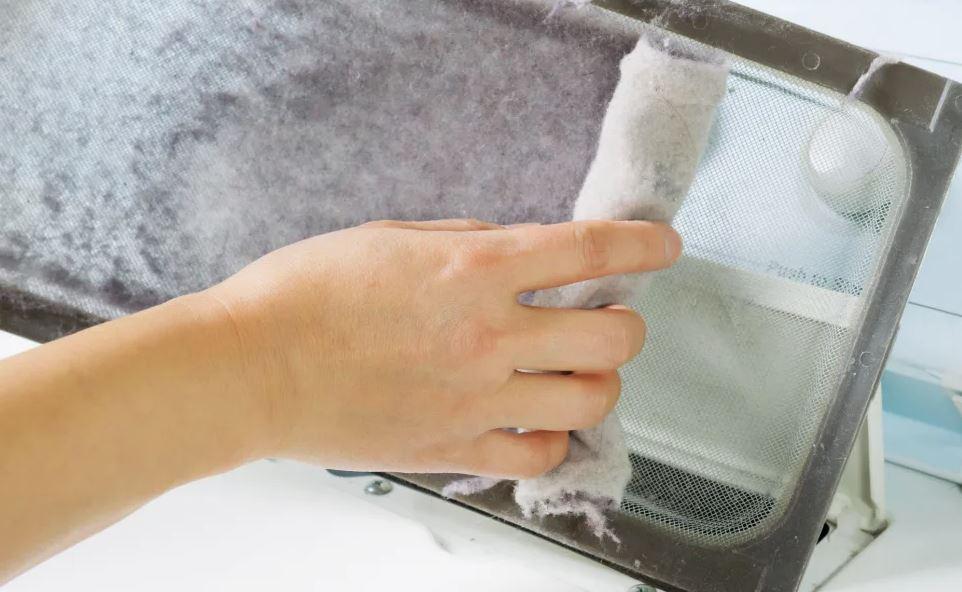 limpiar filtro secadora