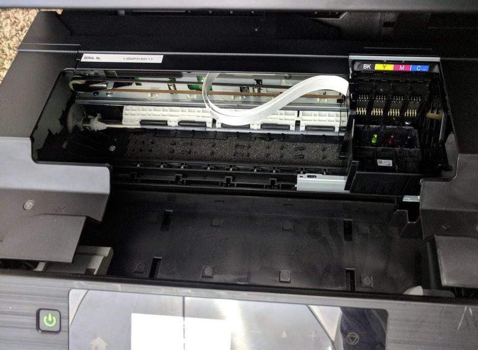 limpiar inyectores impresora