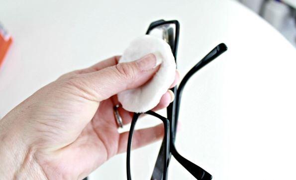 limpiar plaquetas gafas