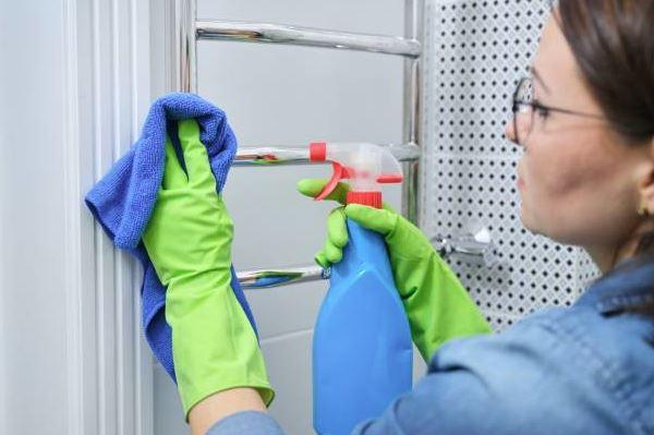 limpiar radiador toallero