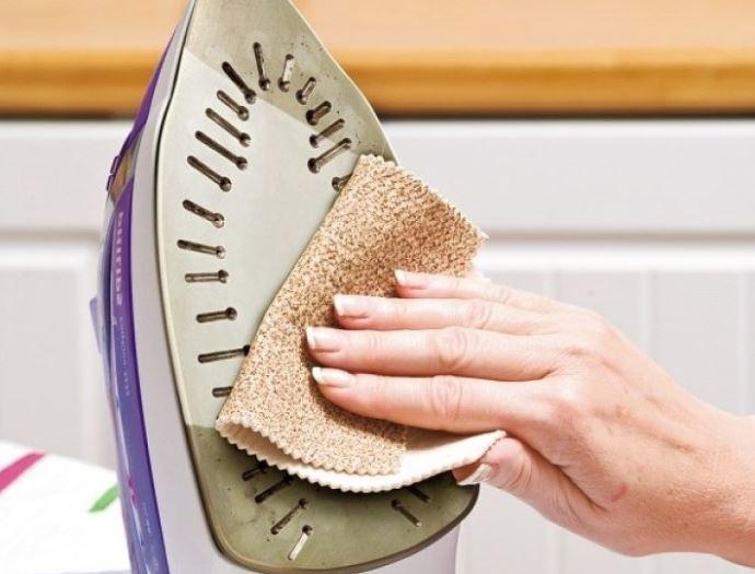 limpiar suela plancha con vinagre