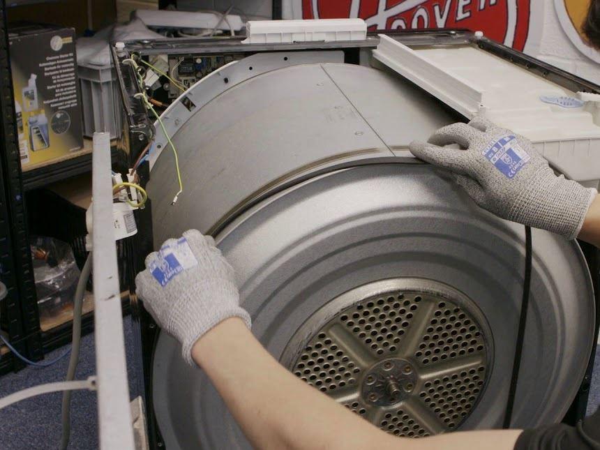 limpiar tambor de secadora