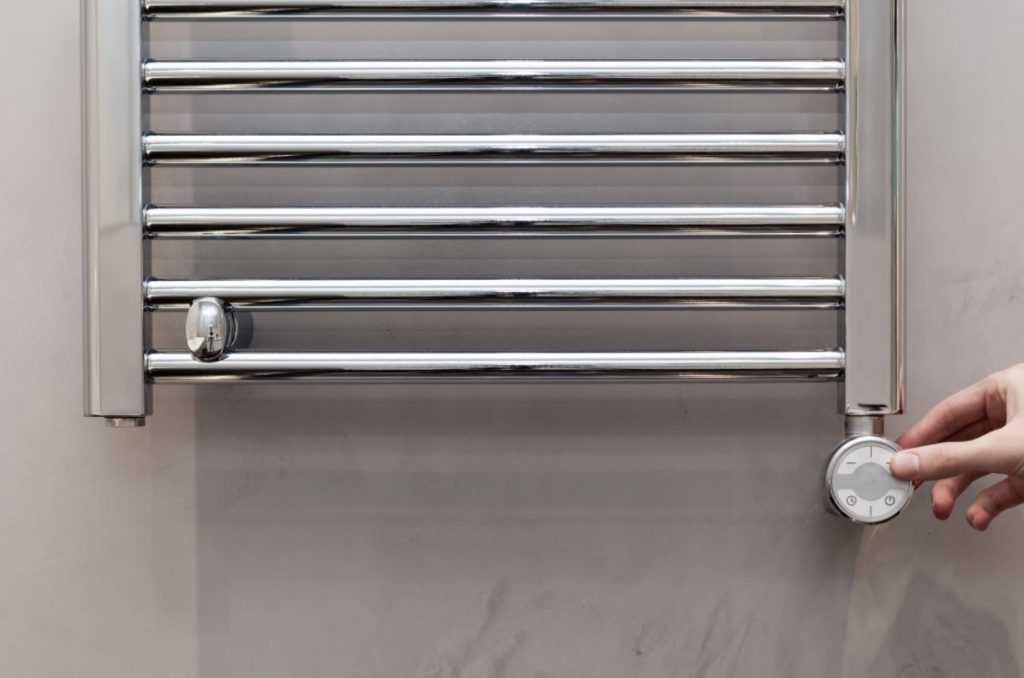 limpiar toallero electrico